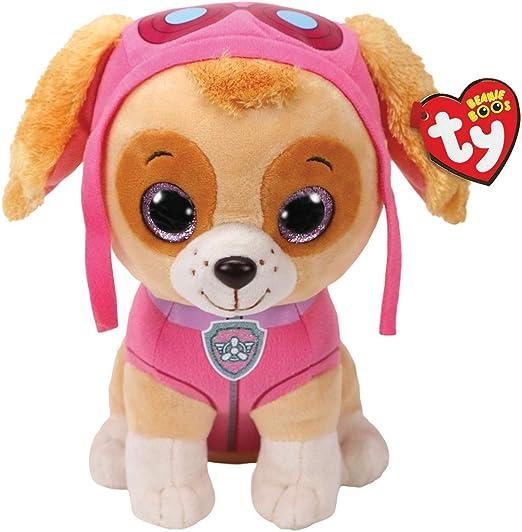 "Amazon.com: TY Paw Patrol Skye Beanie - 8 "" Nickelodeon Cartoon Cockapoo Dog Aviator: Toys & Games"