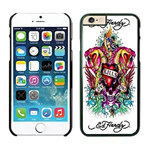 Fancy Product Ed Hardy-iphone 6 case-[Non-Slip] [Exact-Fit] Lifetime Warranty,easily install with maximum protection,Ultra Fit Hard Case Shock-Absorption Bumper with Anti-Scratch Hard Case for iphone 6