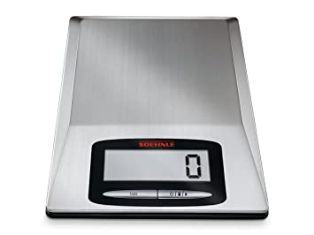 Soehnle Optica 67079 - Báscula de cocina, acero inoxidable: Amazon.es: Hogar