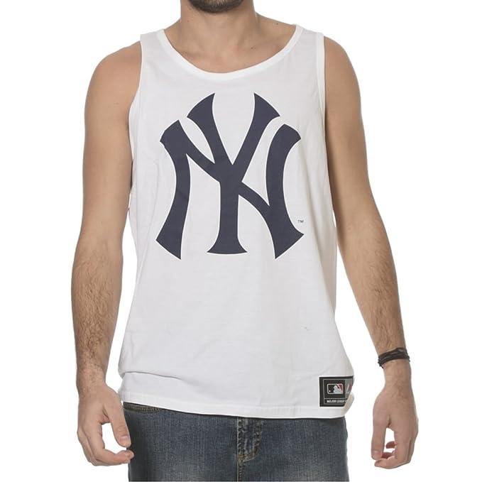 Majestic Canottiera New York Yankees WH XL  Amazon.it  Abbigliamento e91efcf6d1a2