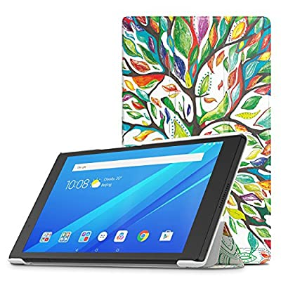 """Lenovo Tab 4 8"""" Case - MoKo Ultra Compact Protection Slim Lightweight Smart Shell Stand Cover Case for Lenovo Tab 4 8 Inch HD Tablet 2017 Release"""