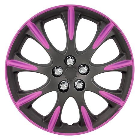 AutoStyle kt953 – 14 – Juego de fundas para ruedas de MGM/PNK Delaware,
