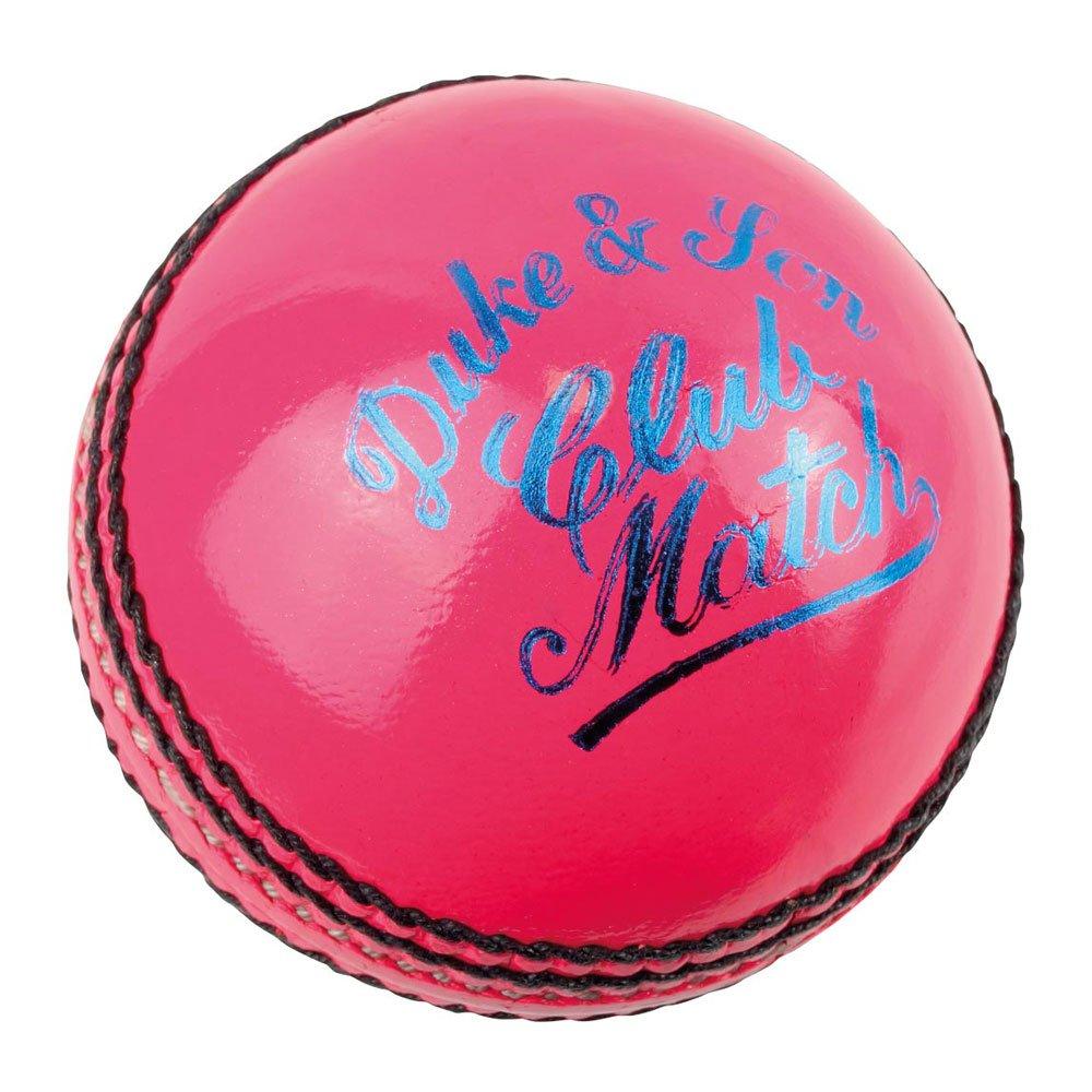 Dukes Cricket De Couleur Club Match UN Senior 156g (162.7ml) Balle De Cricket