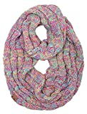 S1-6800-816.41 Funky Junque Infinity Scarf - 4 Tone Rainbow (#11)