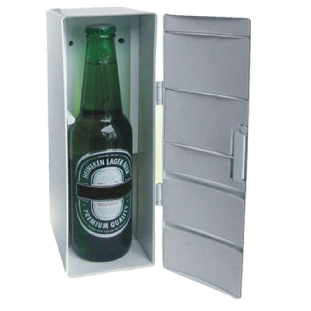 Birdfly Portable Desktop Mini Refrigerator Usb Fridge Beer Freezer