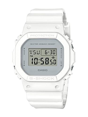 046085c482d20 Amazon.com  Casio G-Shock Unisex DW-5600CU-7CR White Watch  Casio  Watches