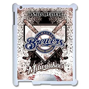 MLB Milwaukee Brewers Baseball Ipad Case Best Apple Cover Fits Ipad 1, 2, 3 and 4