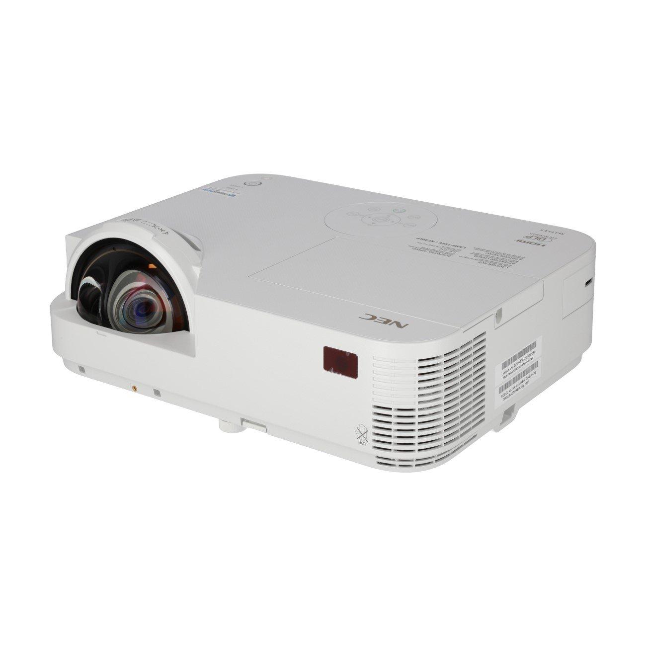 Proyector NEC M333XS DLP Short-Gobierno de 3,300 ANSILum
