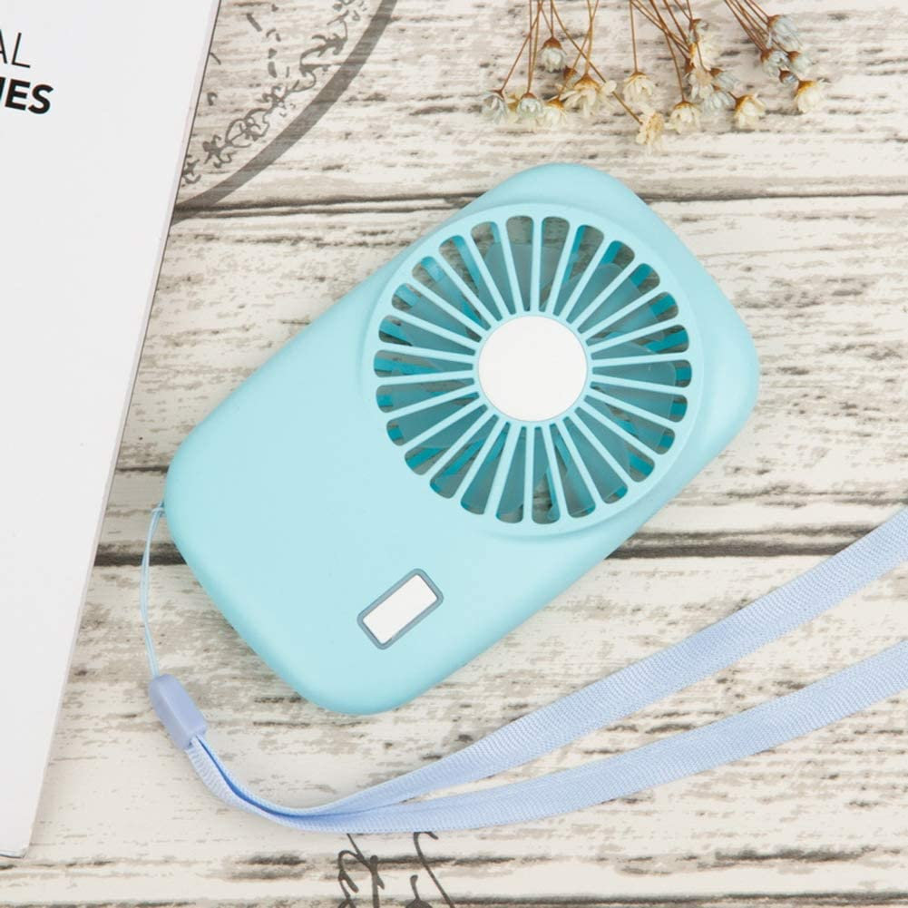 heaven2017 Mini Power Quiet Summer Portable USB Rechargeable Cooling Desktop Fan for Outdoor Home Office Dorm Air Cooler Blower Pink