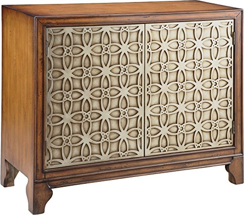 Sideboard Buffet Chest - Stein World Furniture Como Cabinet, Khaki/Silvery