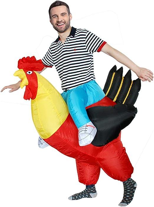 Disfraces de Halloween Navidad Purim Cosplay Inflable Gallo Gallo ...