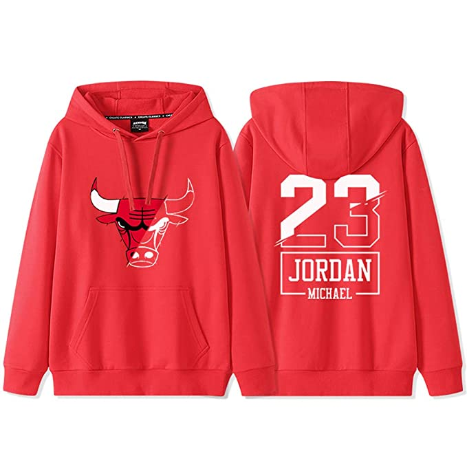 Chicago Bulls 23# Michael Jordan Sudadera con Capucha Suéter ...