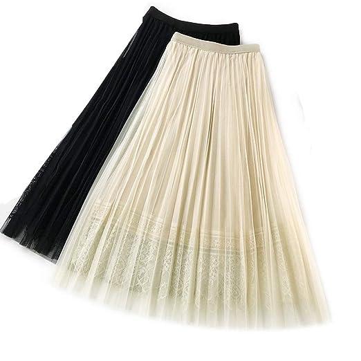 BINODA SKIRT Falda de tutú de Encaje con Cintura elástica en línea ...
