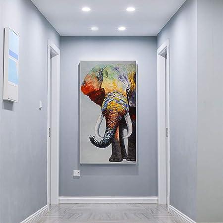 RTCKF Arte de la Pared Pintura Lienzo impresión Animal ...