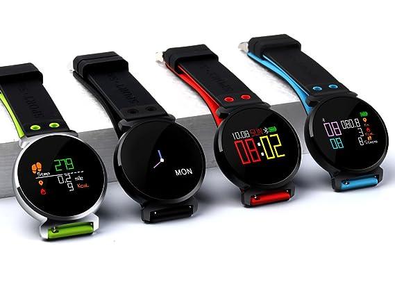 Amazon.com: montreit K2 cuatro colores reloj inteligente ...