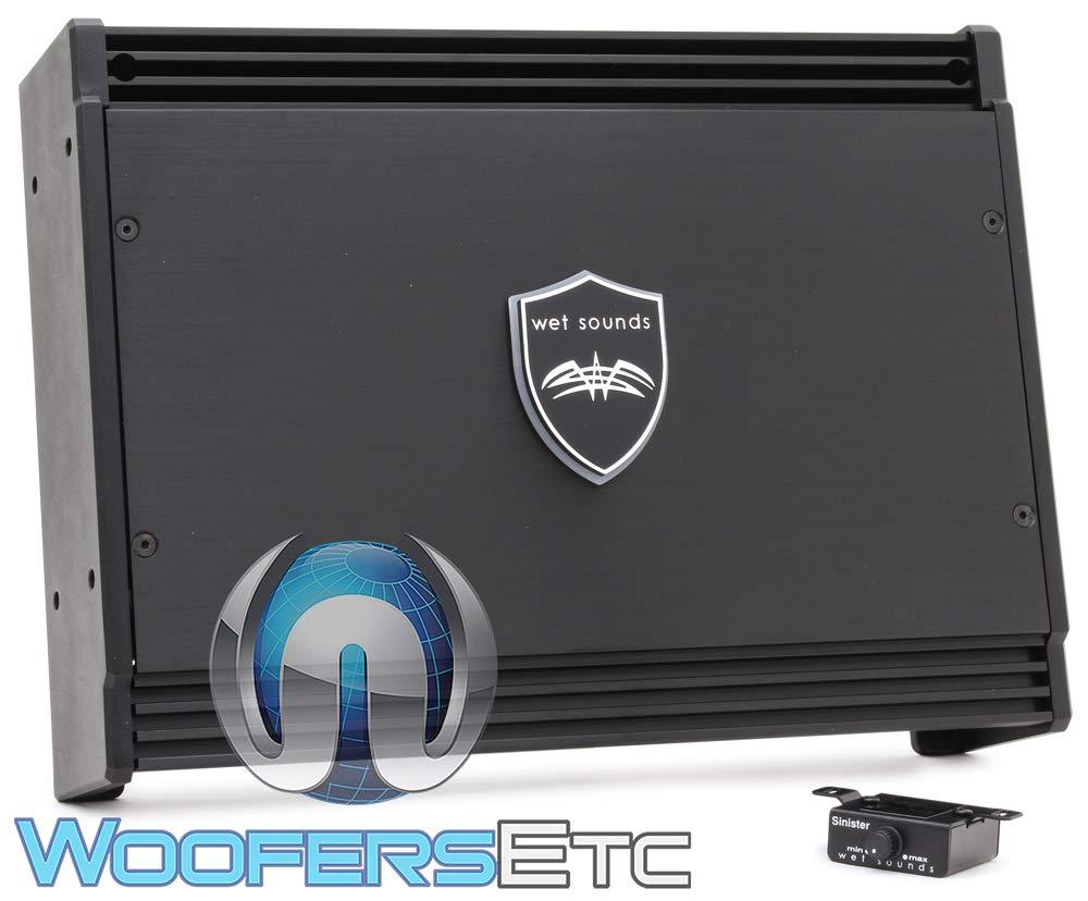Earthquake Sound MiNi D1500.2 Stereo Class D 2-Channel Car Amplifier 1500 Watts