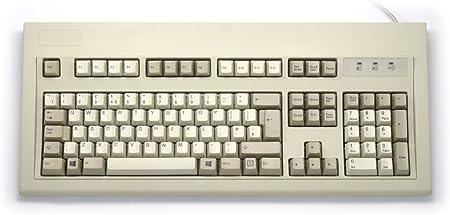 Teclado de estilo IBM original, color beige USB