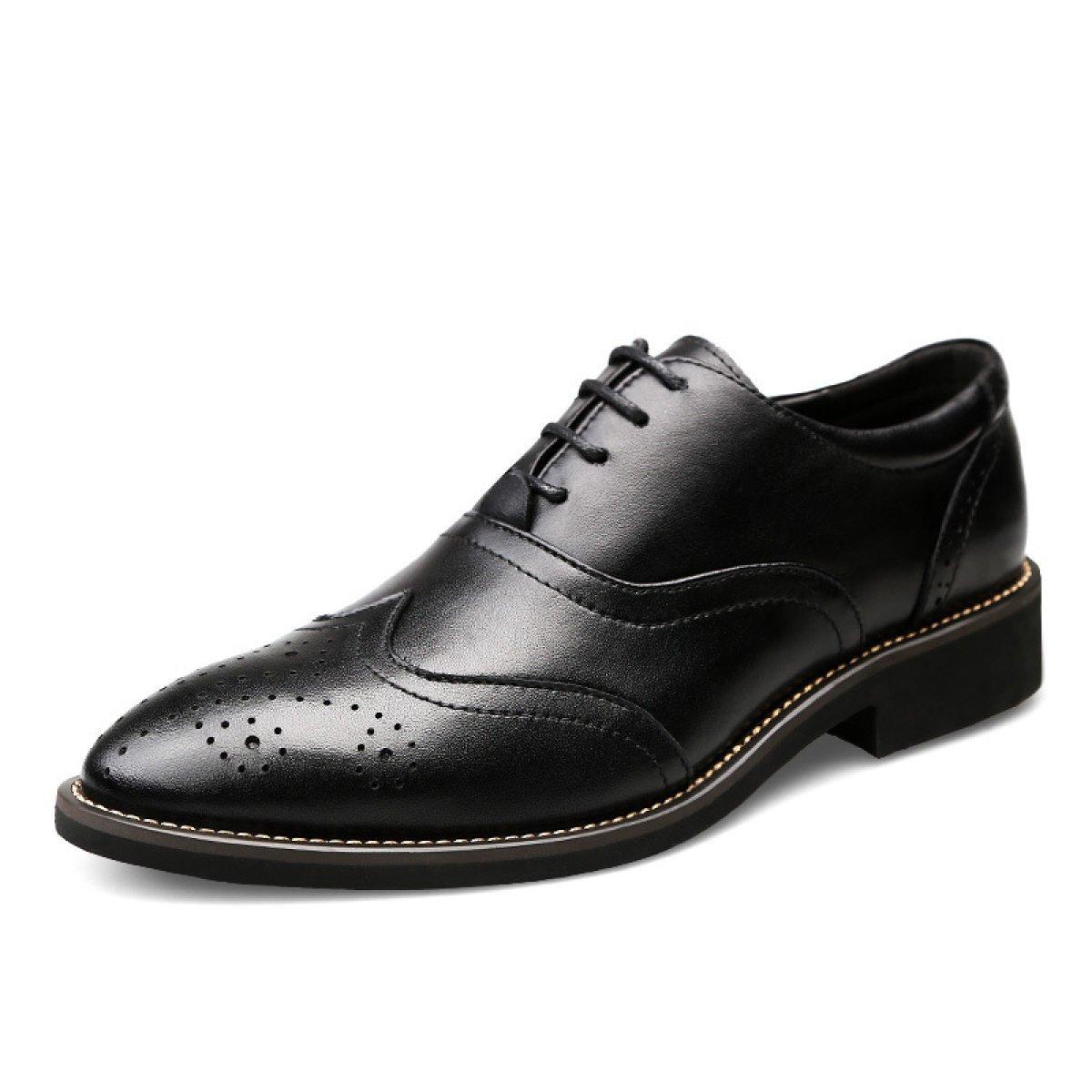 Herrenschuhe Arbeitsplatz Geschäft Schuhe Spitze Schuhe Spitze England Schuhe schwarz