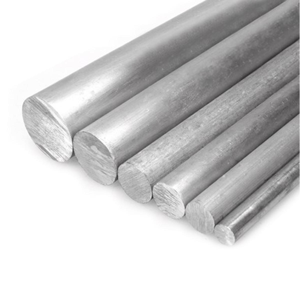 5pcs 10mm Dia x 250mm Long 0.3937'' x 9.84'' Aluminum 6061 Round Rod Bar by Yodaoke