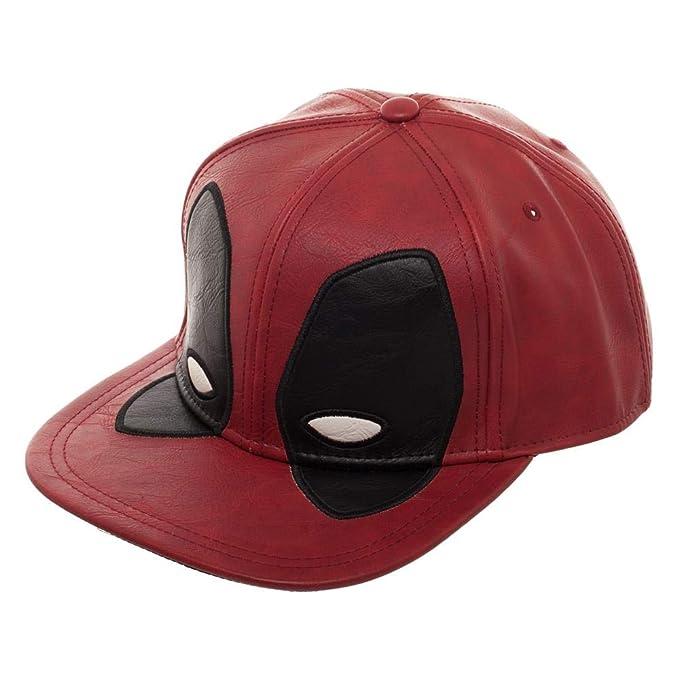 best service 120ee 93b75 Marvel Deadpool Big Face Distressed Snapback Hat