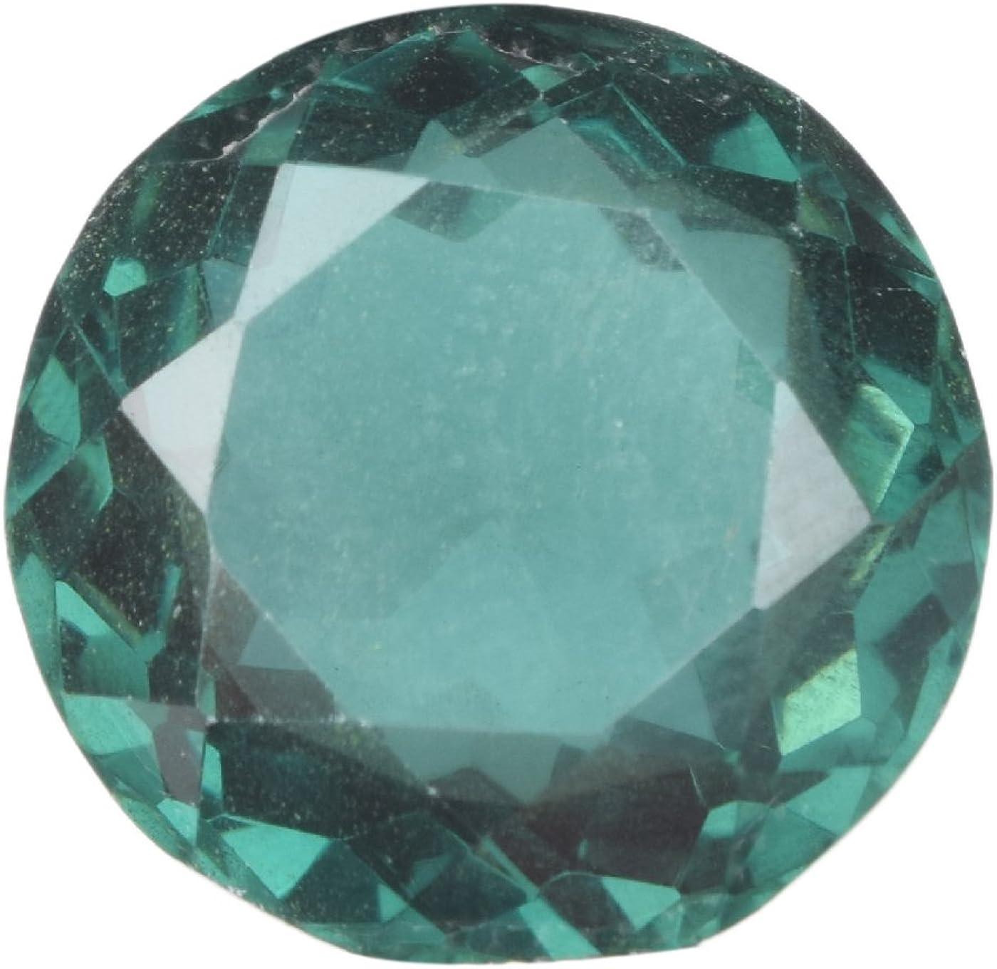 Gemhub Piedra Preciosa Amatista Verde 18.00 CT Tamaño del Anillo Forma Redonda Amatista Verde Piedra Suelta BL-360