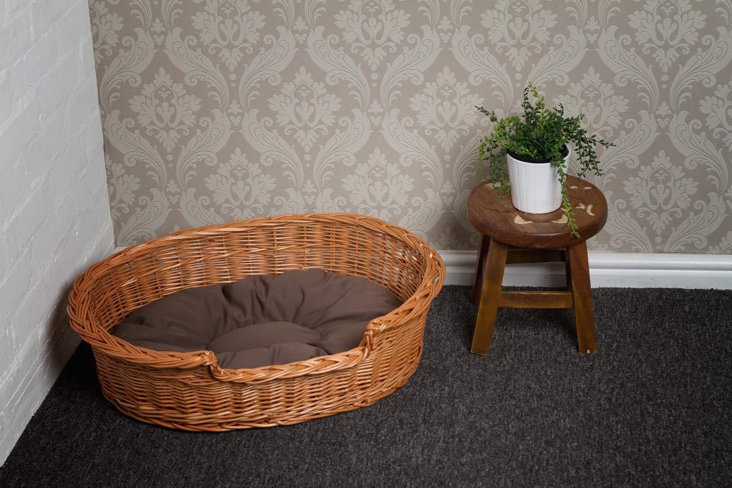 Amazon.com: Prestige cama para perro Cesta de mimbre, 33.5 ...