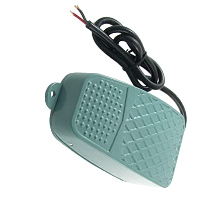 Control Industrial On//Off Momentary Electric Foot Pedal Switch Nonslip Metal