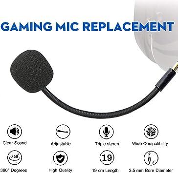 Turtle Beach Ear Force XO ONE Stealth 420X Recon 320 Z60 6 verkabelte Xbox One PS4 Gaming Headset Ersatz-Mikrofon 3,5 mm Spielmikrofon PDP Afterglow AG