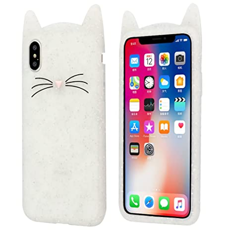 custodia iphone 8 gatto
