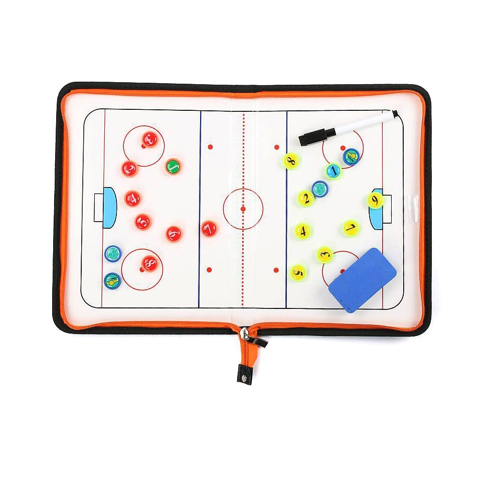 Wrzbest Hockey Coaching Board Strategy Tactics Clipboard Coach's Game Match Training Plan Accesories Greatshadow