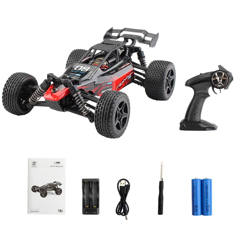 ASfairy G171 1:16 2.4G 4WD Scale Large RC Cars 36km/h+ Speed | Boys Remote Control Car Monster Truck Electric | All Terrain Waterproof Toys Trucks for Kids and Adults by ASfairy (Image #7)