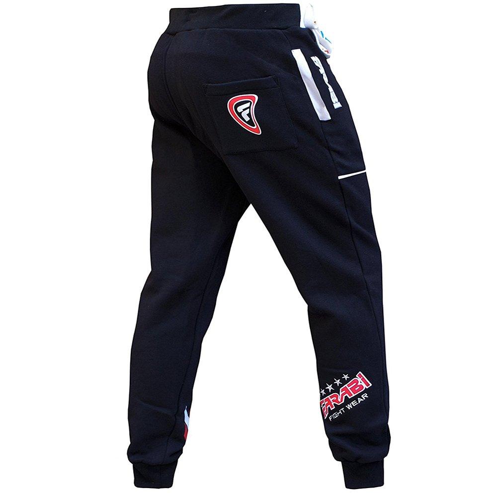 Farabi Fleece Bottom Trouser Jogging Sports Casual Pants Training Black (2XS) by Farabi (Image #4)