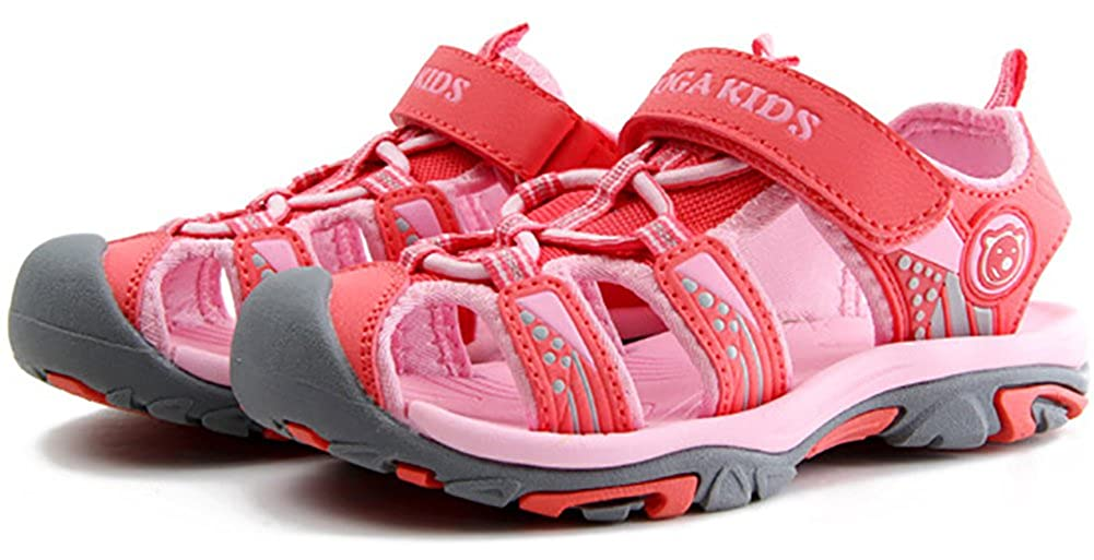 UBELLA Boys Girls Outdoor Sport Breathable Closed-Toe Sandals Water Shoes Toddler//Little Kid//Big Kid