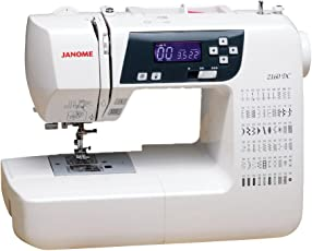 Janome 2160DC Maquina de Coser Digital, color blanco