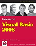 Professional Visual Basic 2008, Bill Evjen and Billy Hollis, 0470191368