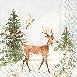Details about  /4 Loose Motif NAPKINS SERVIETTES NAPKINS Christmas Stag Forest Deer 441 441 - n Servietten Napkins Weihnachten Hirsch Wald Reh data-mtsrclang=en-US href=# onclick=return false; show original title