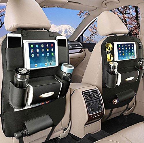 YOOSUN 2PCS Kick Mats Car Organisers Auto Organizer Pockets Waterproof Seat...