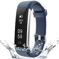 COOLEAD Pulsera Actividad Mujer Hombre Reloj Inteligente Podómetro Monitor de…