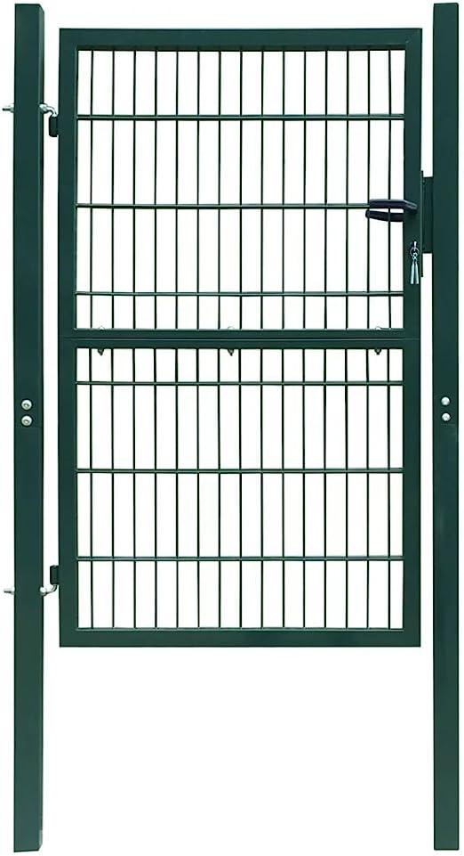 taofuzhuang Puerta de verja 2D (Sencilla) Verde 106 x 230 cmBricolaje Vallas de jardín Puertas de jardín: Amazon.es: Hogar