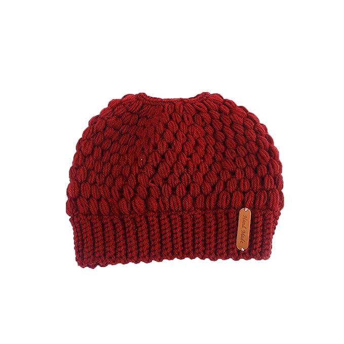 Diadema Tejida De Invierno para Mujer - Tejido De Ganchillo De Turbante  Headwrap Giro Pelo Banda Caliente Crochet Hairband Sombrero Tapa Oreja Más  Cálido  ... 2898a3b30ac