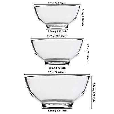 Bakeware Home & Kitchen WERTIOO 6.7 Inch freezer oven microwave ...