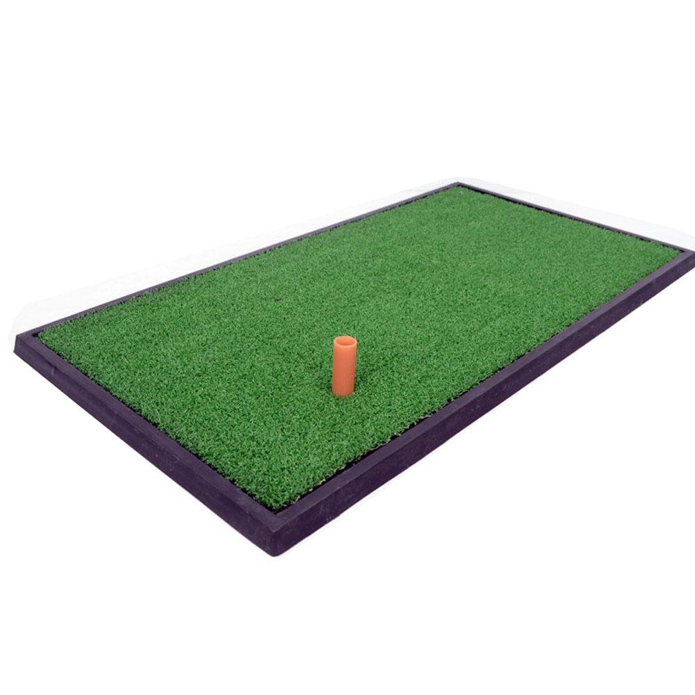 DNSJBゴルフマット屋内練習パッドスイングカッティングパッド63 * 33 cm   B07KF5C5N5