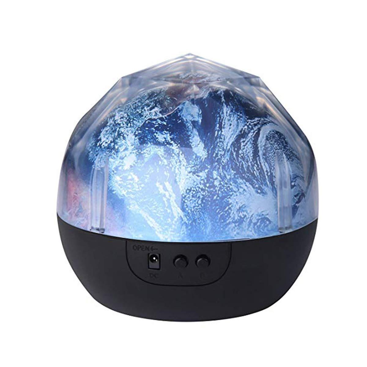 HaiQianXin Noche Lunar Luz Planeta Proyector Mágico Tierra ...