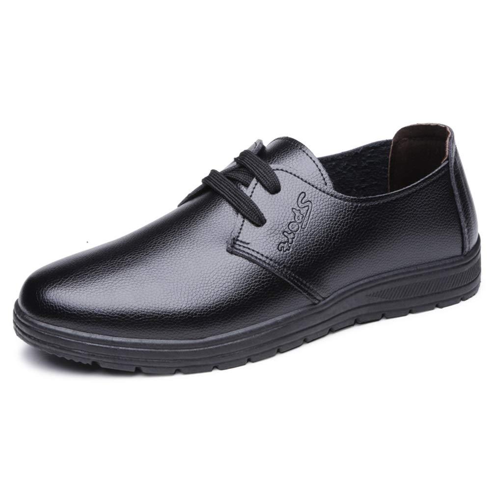 GBY Herrenmode Oxford Lässig Komfortable Einfache Licht Reine Farbe Runde Kappe Formale Schuhe Kleid Schuhe