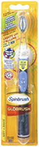 ARM & HAMMER Spinbrush Glōbrush Powered Toothbrush, 1 Count