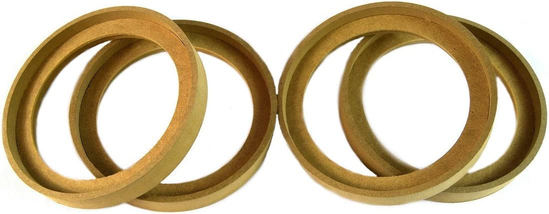 "20 Pieces 8/"" MDF Speaker Ring RING-8 Speaker Mounting Spacer Rings 10 Pairs"
