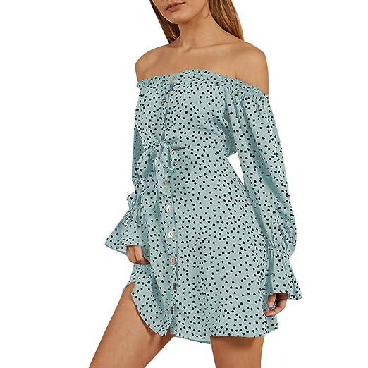 f17efcde00fe Amazon.com  Gooldu T Shirt Dress for Women