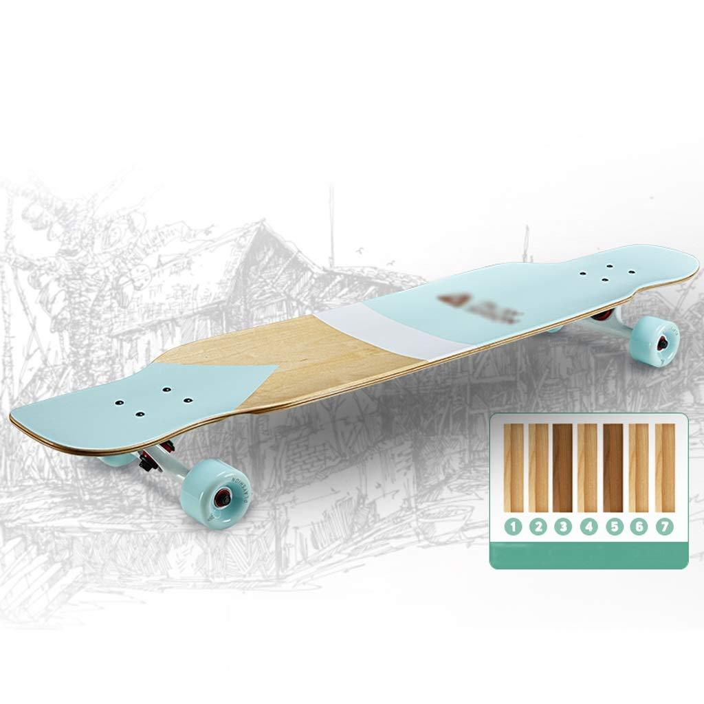 DUWEN-Skateboard-Anfänger-Ahorn Longboard-Roller-Teenager-Skateboard-Berufskateboard erwachsenes vierrädriges Skateboard B07PX4MH1R Skateboards Feinbearbeitung Feinbearbeitung Feinbearbeitung 7335b3