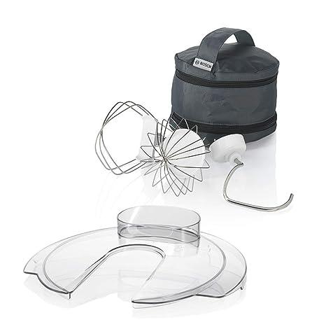 Bosch MUM54A00 900W 3.9L Negro, Plata, Color blanco - Robot de cocina (3,9 L, Negro, Plata, Blanco, 1,1 m, 900 W, 200-240, 50-60): Amazon.es: Hogar