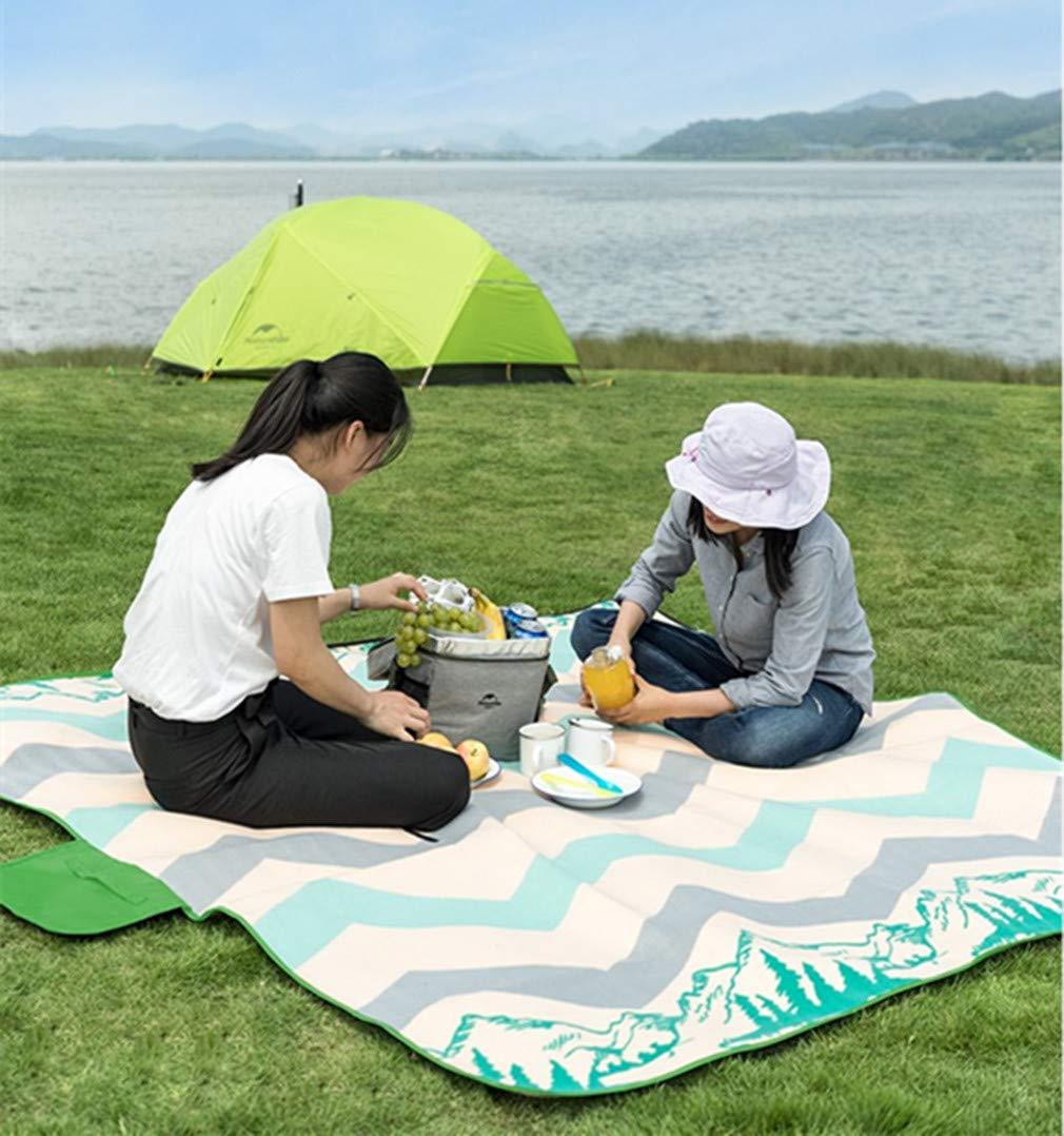 Zhxinashu Tragbare Tragbare Tragbare Faltende Große Picknick Matte - Wasserdicht Verdicken Outdoor Reise Camping(A 200  200) B07NY56D9L   Günstige Preise  4eb771